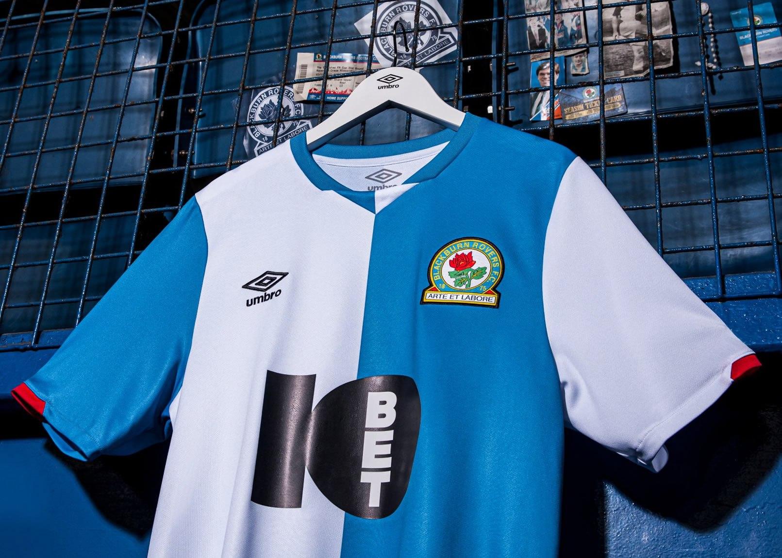 Camiseta Umbro del Blackburn Rovers 2019/20 | Imagen Web Oficial