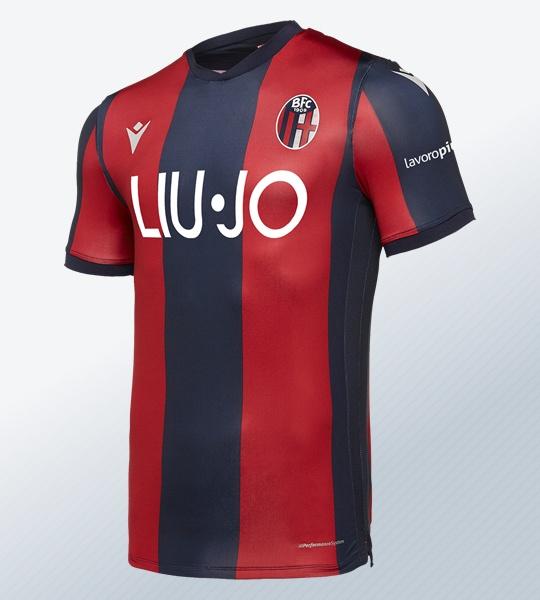 Camiseta titular del Bologna 2019/20 | Imagen Macron