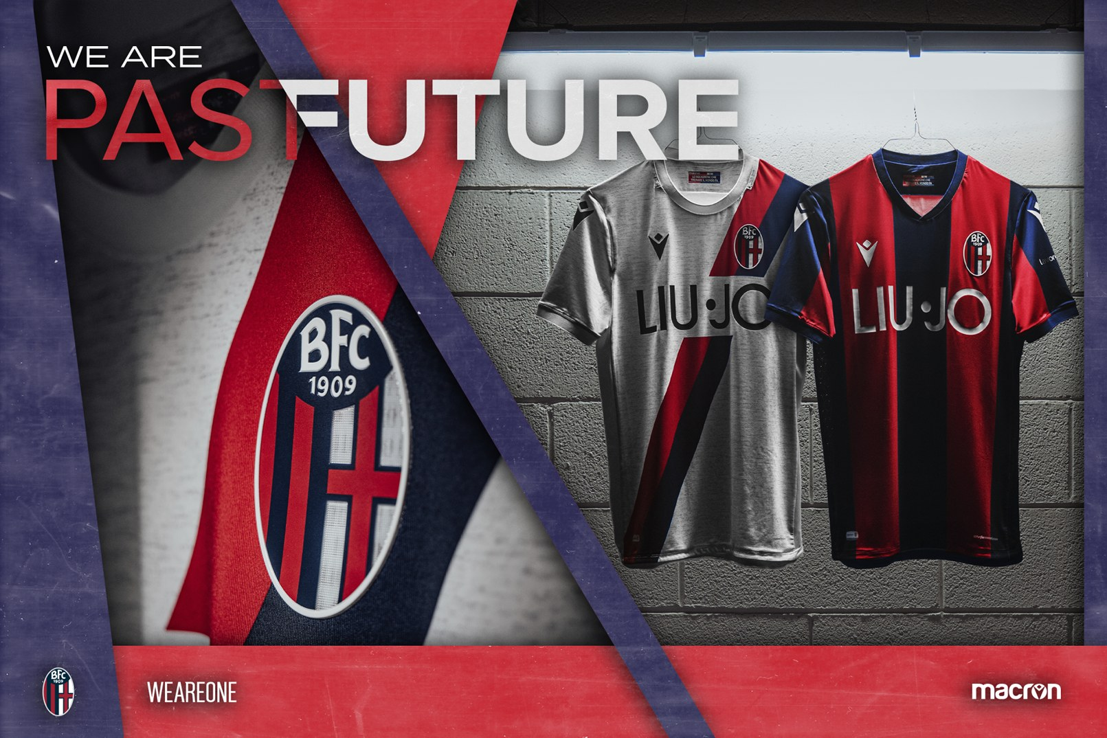 Camisetas Macron del Bologna 2019/20 | Imagen Web Oficial