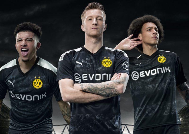 Camiseta suplente del Borussia Dortmund 2019/2020 | Imagen Puma