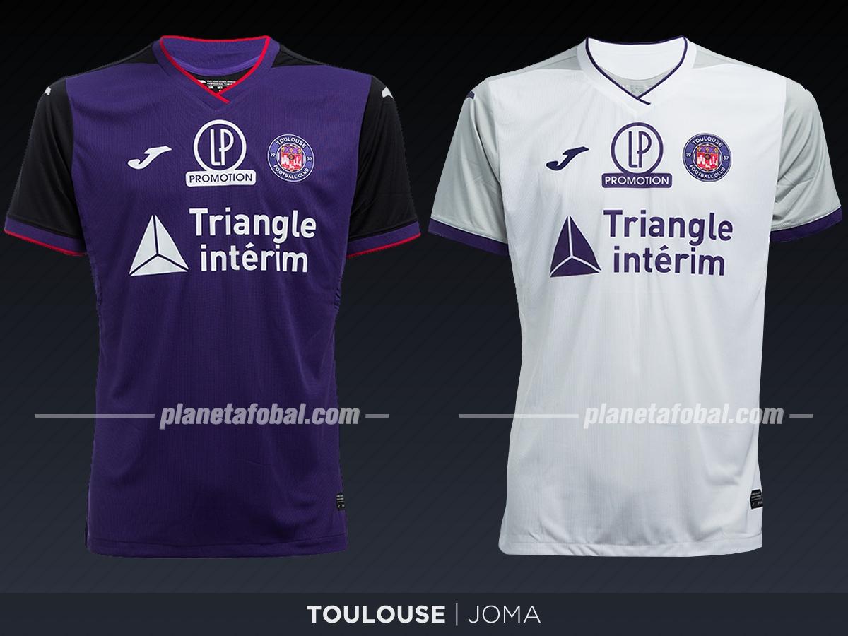 Toulouse FC (Joma) | Camisetas de la Ligue 1 2019-2020