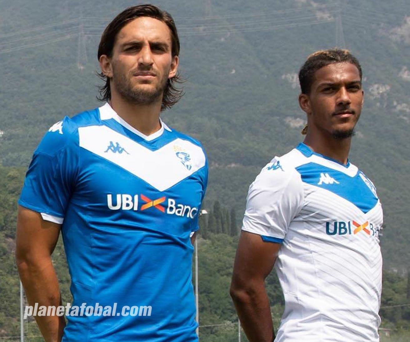 Camisetas Kappa del Brescia Calcio 2019/2020 | Imagen Web Oficial