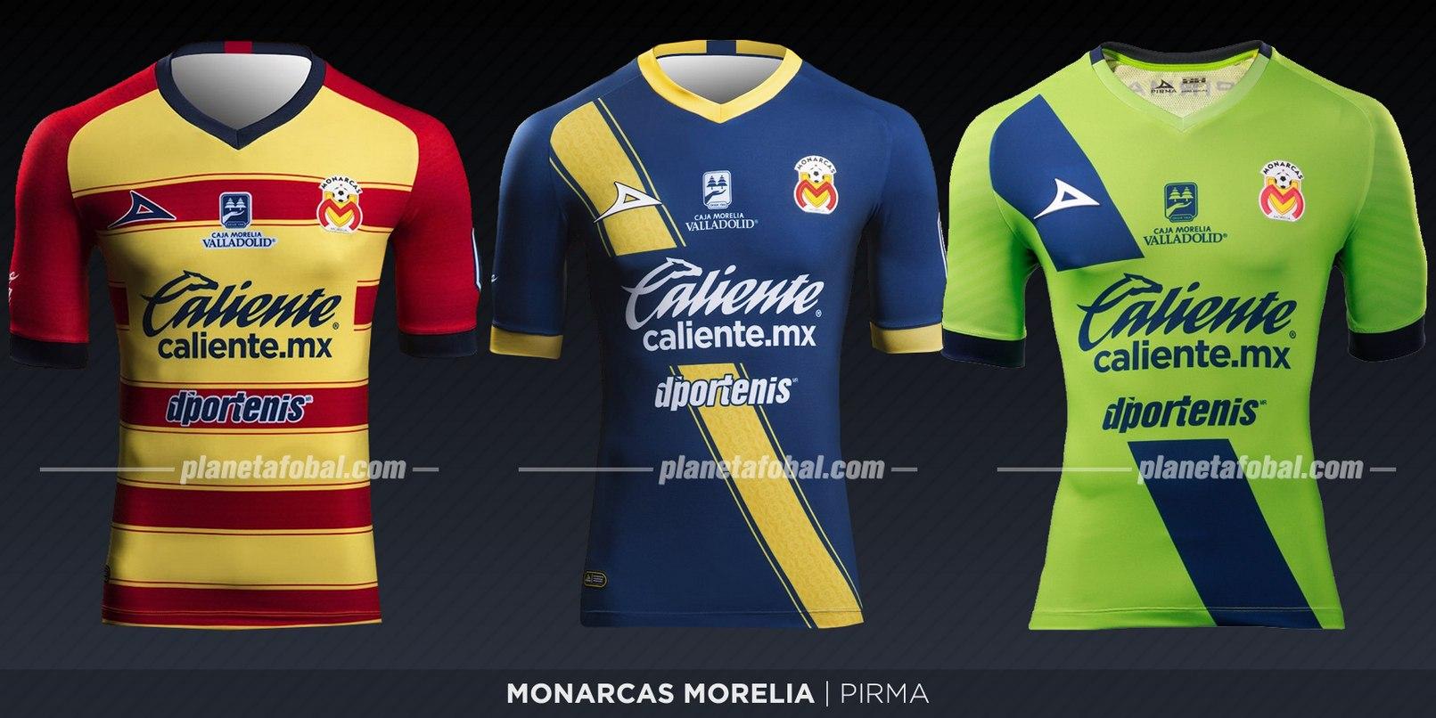 Monarcas Morelia (Pirma) | Camisetas de la Liga MX 2019-2020