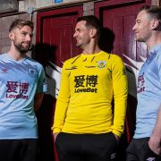 Camiseta suplente Umbro del Burnley FC 2019/20 | Imagen Web Oficial