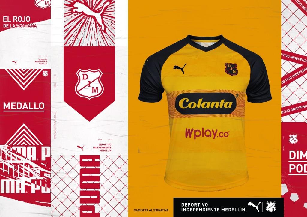 Camiseta alternativa de Independiente Medellín 2019/20 | Imagen Puma