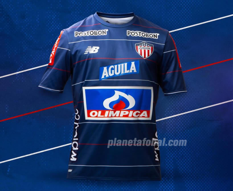 Camiseta alternativa New Balance del Junior 2019 | Imagen Twitter Oficial