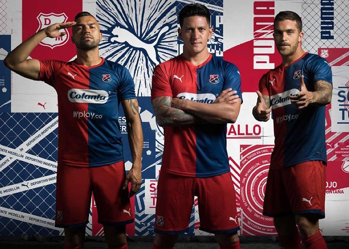 Camiseta local de Independiente Medellín 2019/20 | Imagen Puma