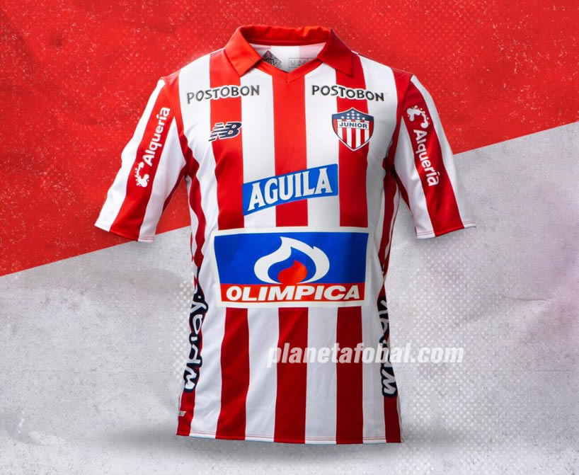 Camiseta local New Balance del Junior 2019 | Imagen Twitter Oficial