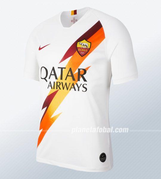 Camiseta suplente de la Roma 2019/2020   Imagen Nike