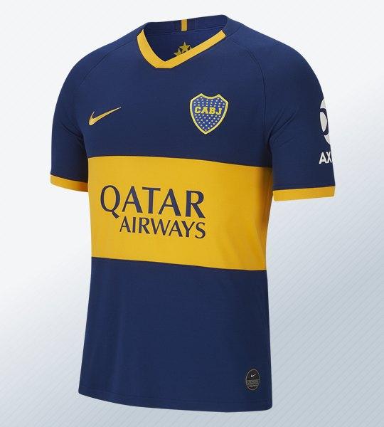 Camiseta titular de Boca 2019/20 | Imagen Nike