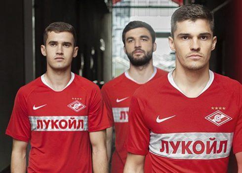 Camiseta titular del Spartak Moscú 2019/2020   Imagen Nike