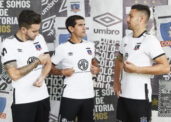 Camiseta titular del Colo Colo 2019/20 | Imagen Umbro Chile