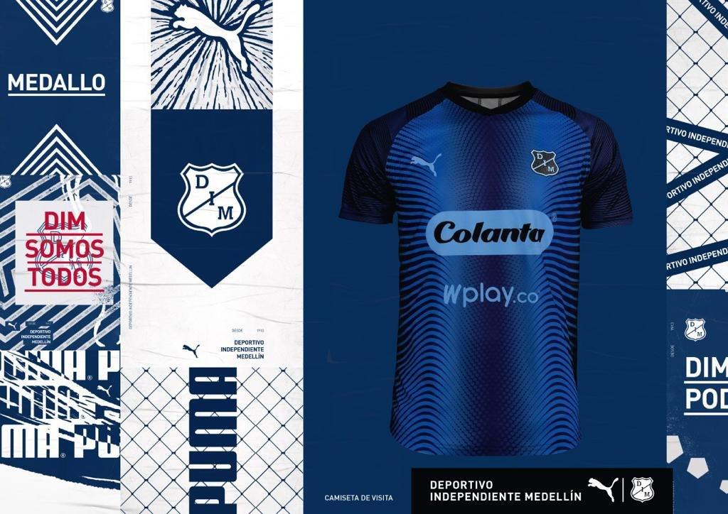 Camiseta visita de Independiente Medellín 2019/20 | Imagen Puma