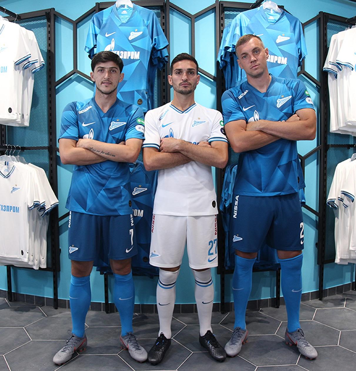 Camisetas Nike del Zenit 2019/20