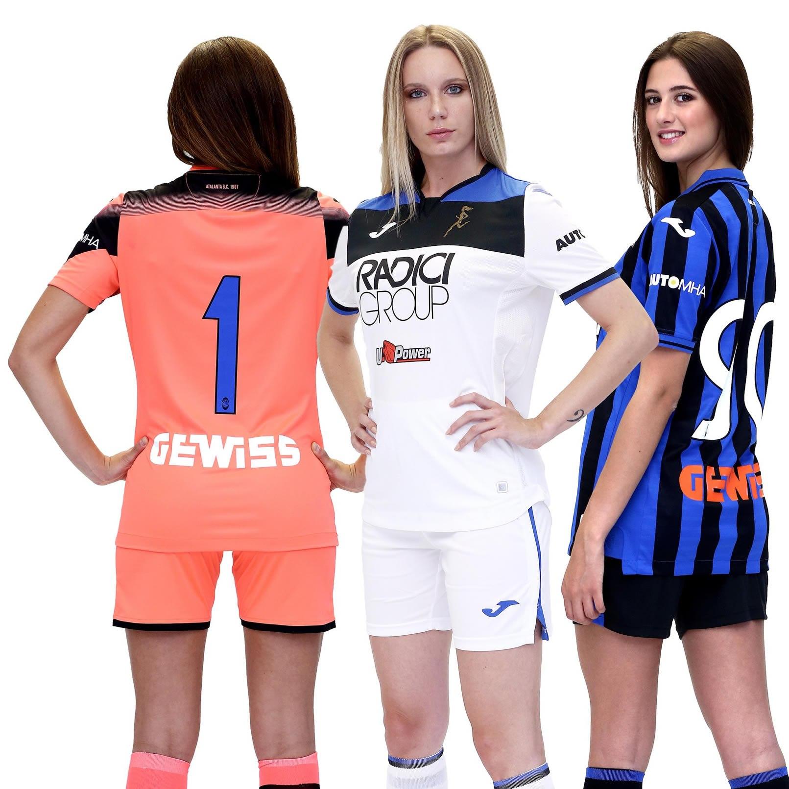 Camisetas Joma del Atalanta 2019/20 | Imagen Web Oficial
