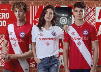 Camisetas Umbro de Argentinos Juniors 2019/2020 | Imagen Twitter Oficial