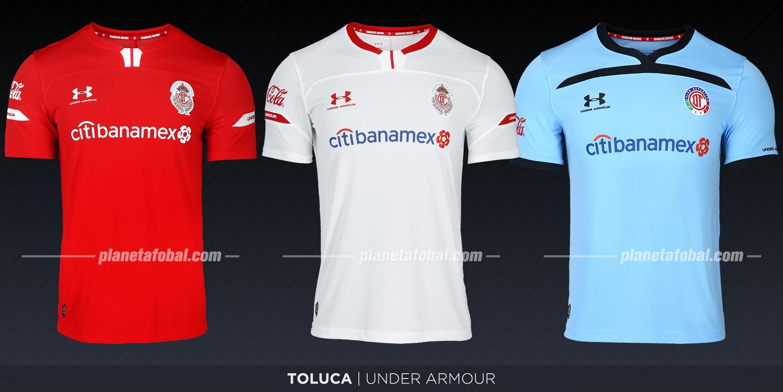 Toluca (Under Armour) | Camisetas de la Liga MX 2019-2020
