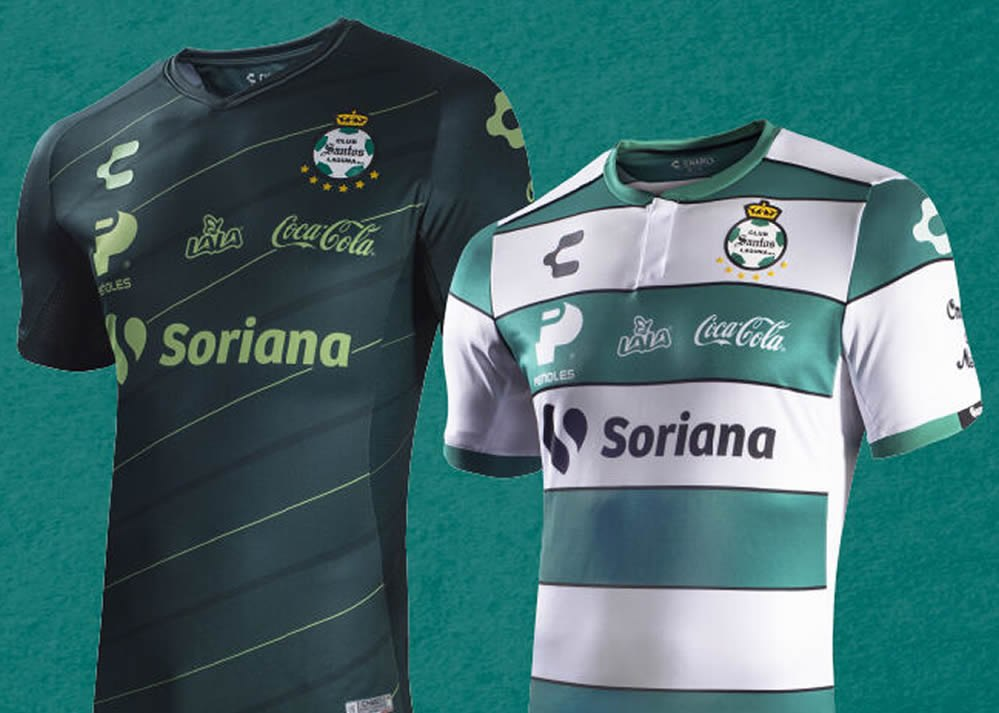 official photos 3d9aa 5211a Camisetas Charly del Santos Laguna 2019/20