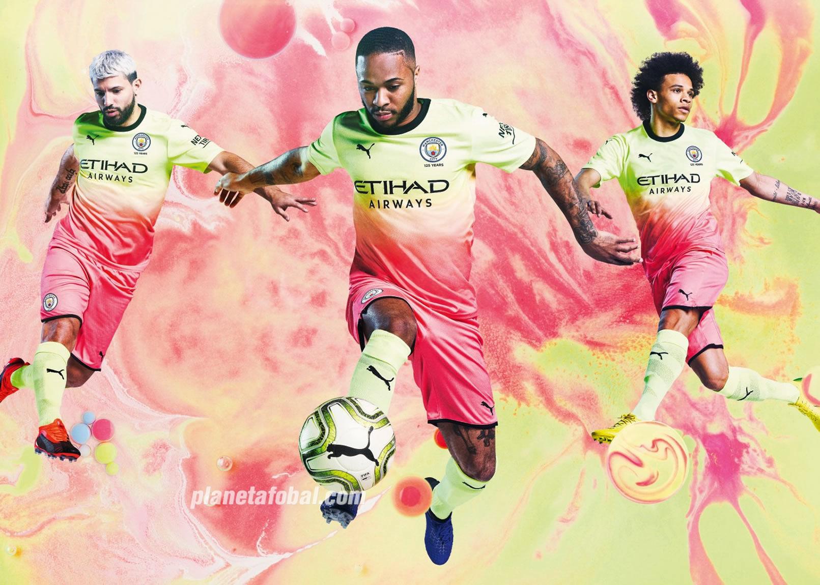 Tercera camiseta del Manchester City 2019/2020 | Imagen Puma
