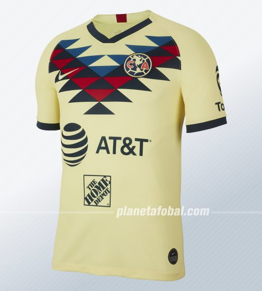 Camiseta local del Club América 2019/2020 | Imagen Nike