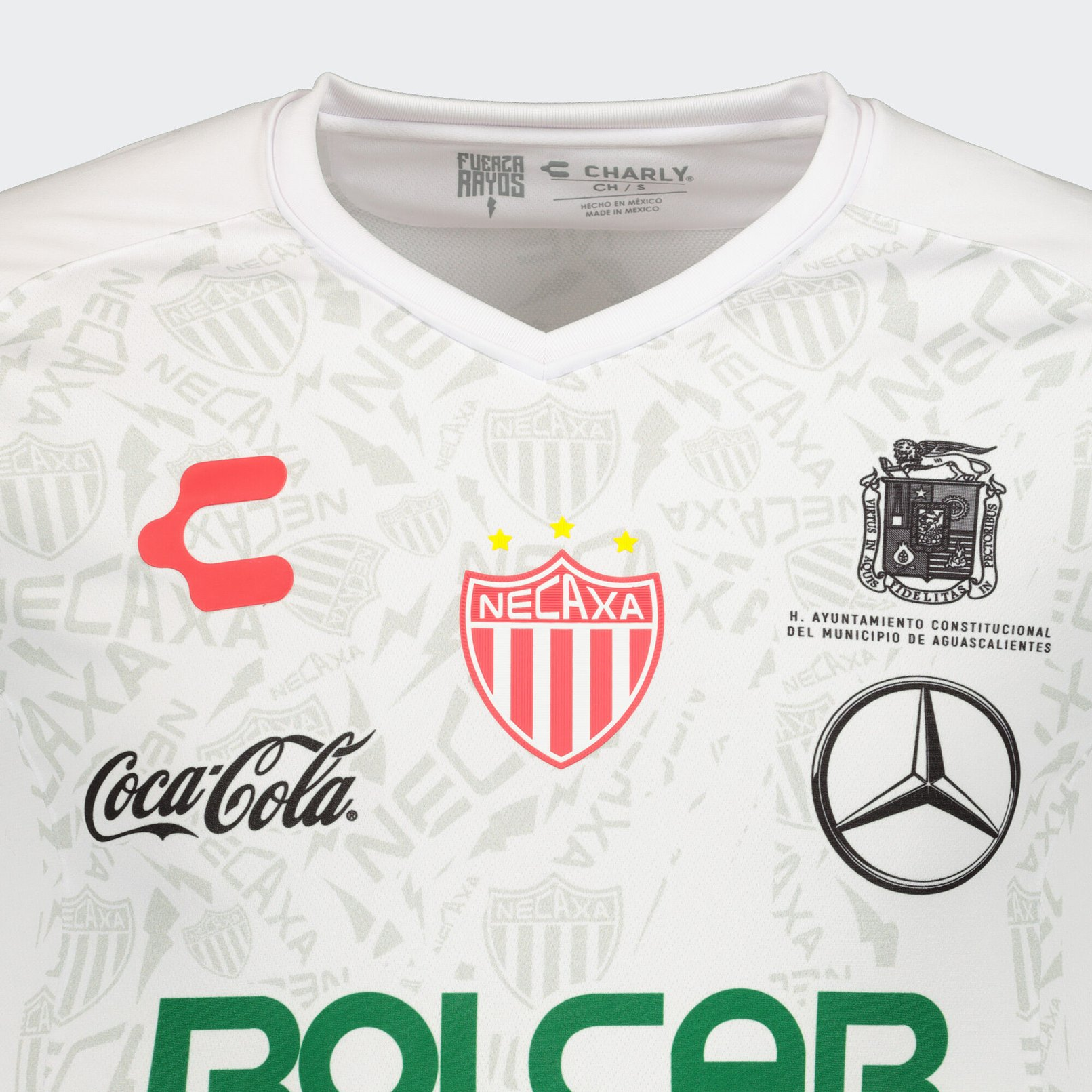 Camiseta local del Club Necaxa 2019/2020 | Imagen Charly