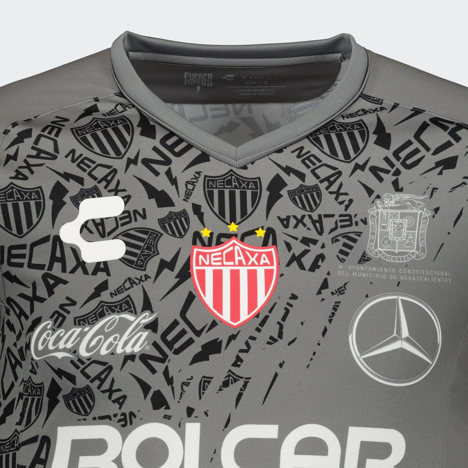 Camiseta visita del Club Necaxa 2019/2020 | Imagen Charly
