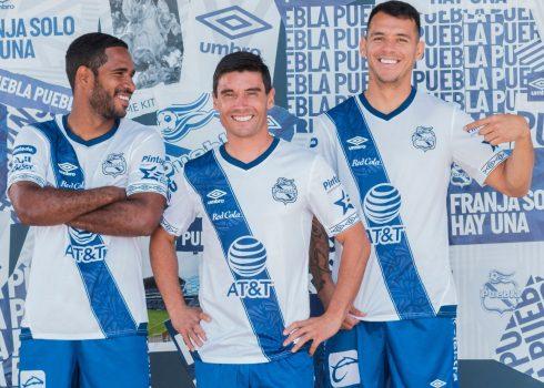 Maillot local Club Puebla 2019/2020 | Image Umbro