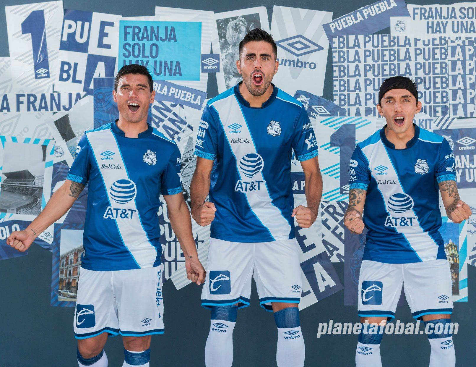 Jersey visita del Club Puebla 2019/2020 | Imagen Umbro