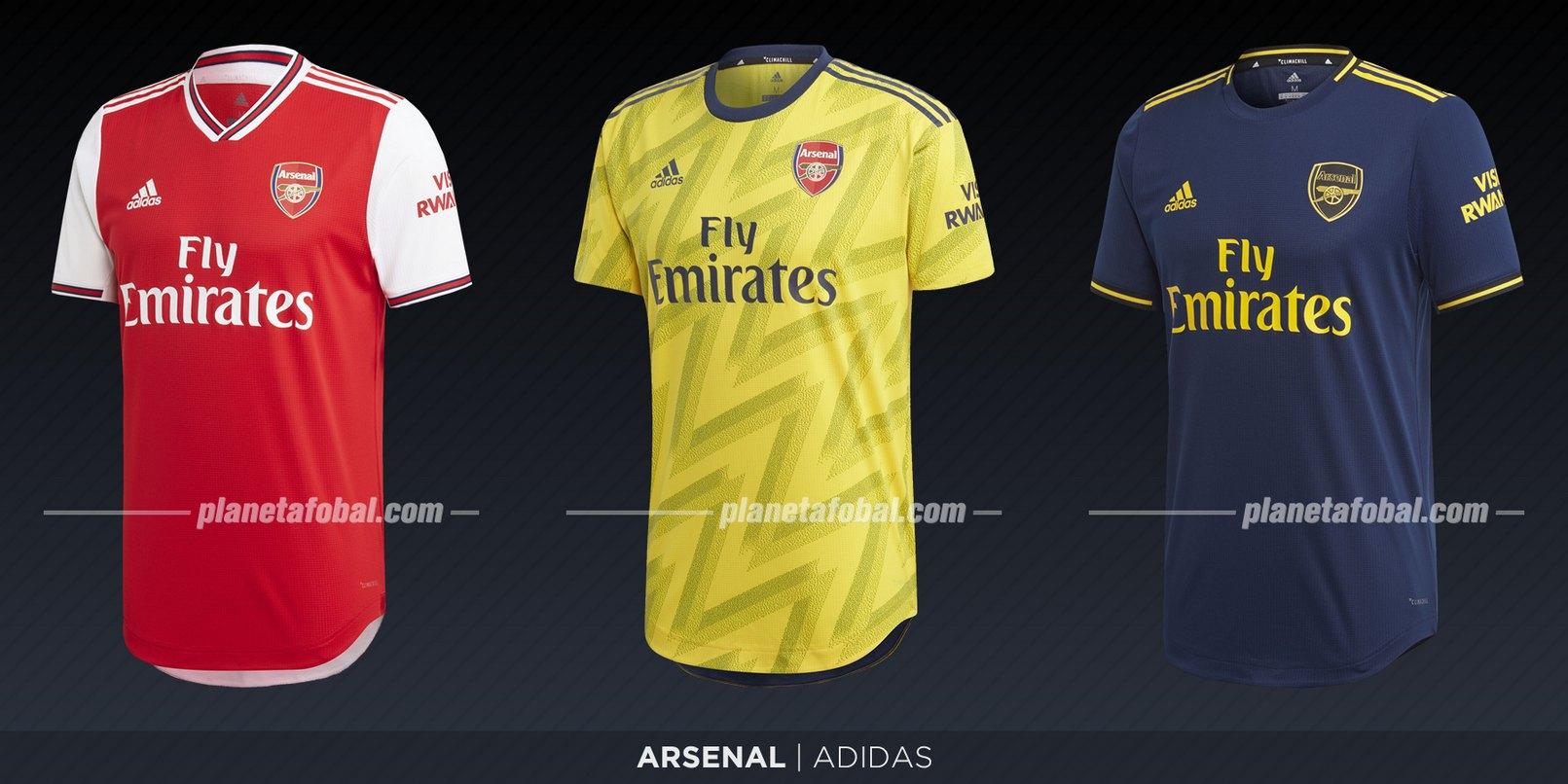 Arsenal (Adidas) | Camisetas de la Premier League 2019-2020