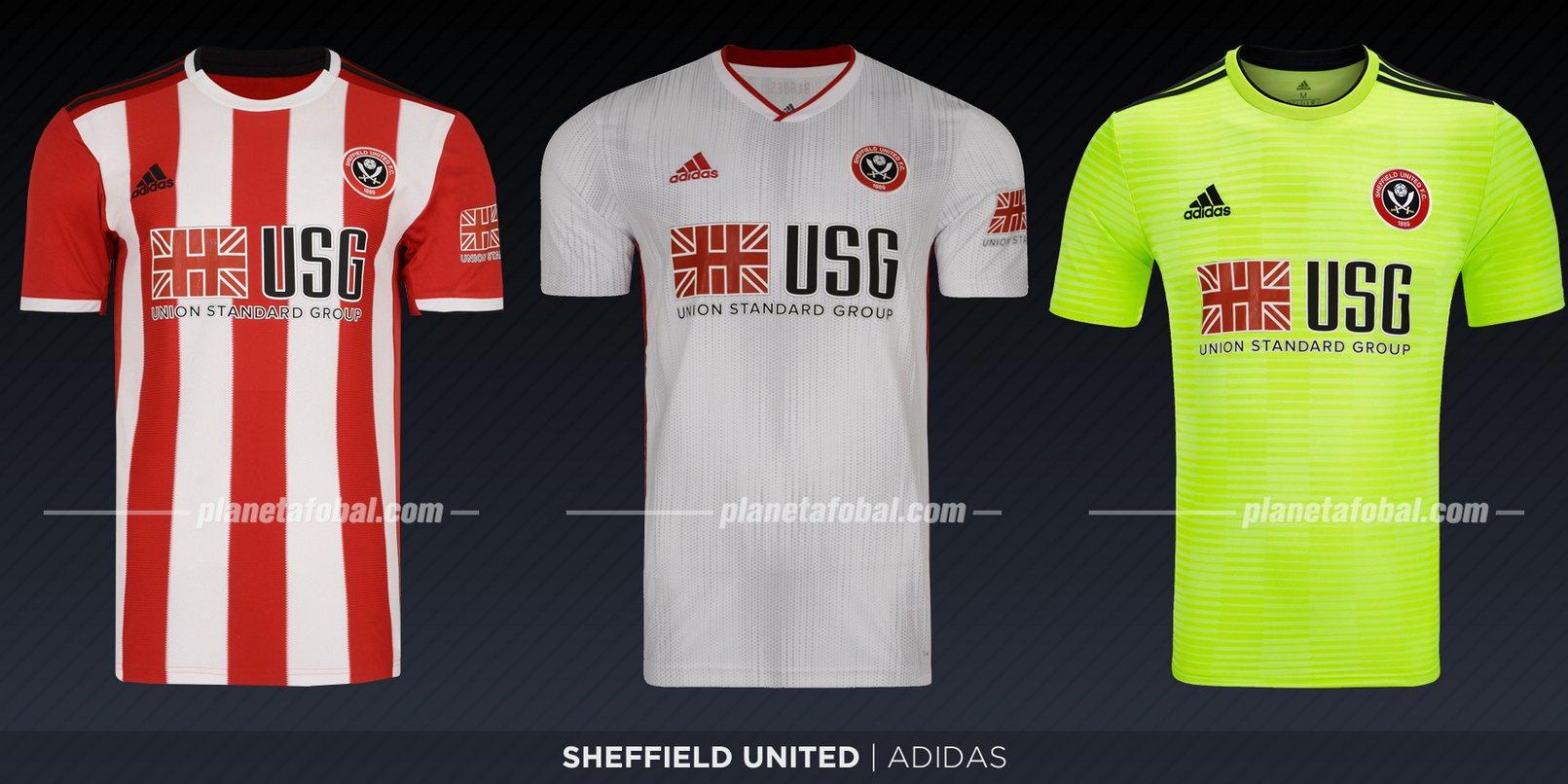 Sheffield United (Adidas) | Camisetas de la Premier League 2019-2020