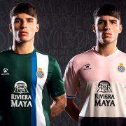 Camisetas alternativas Kelme del RCD Espanyol 2019/20 | Imagen Twitter Oficial