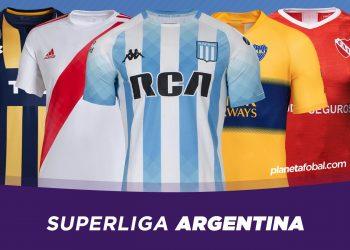 Camisetas de la Superliga Argentina 2019