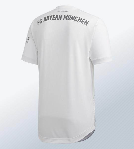 Camiseta suplente del Bayern Munich 2019/2020 | Imagen Adidas