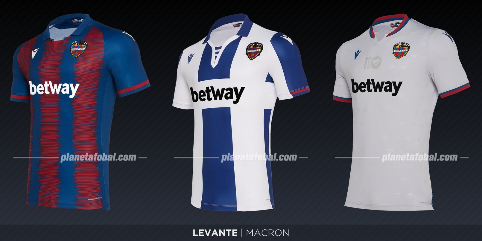 Levante (Macron) | Camisetas de LaLiga 2019-2020