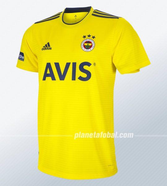 Camiseta suplente Adidas del Fenerbahçe 2019/20 | Imagen Web Oficial