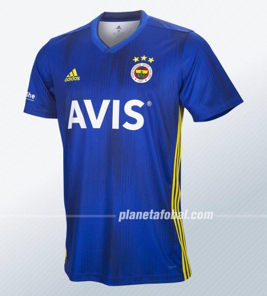 Tercera camiseta Adidas del Fenerbahçe 2019/20 | Imagen Web Oficial