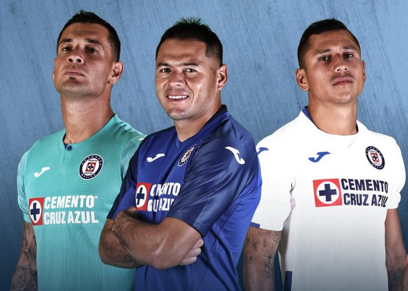 Camisetas Joma del Cruz Azul 2019/2020 | Imagen Twitter Oficial