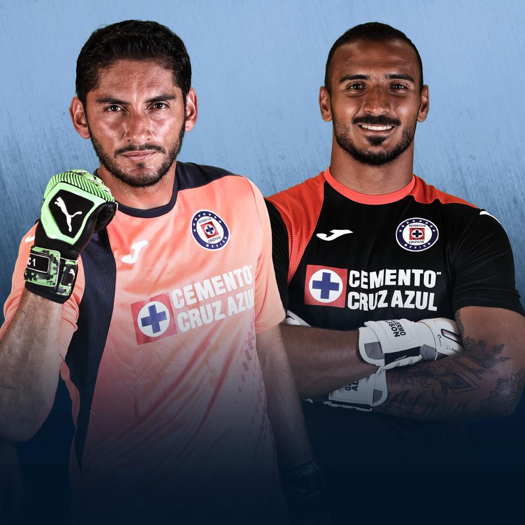 Camisetas de porteros Joma del Cruz Azul 2019/2020 | Imagen Twitter Oficial