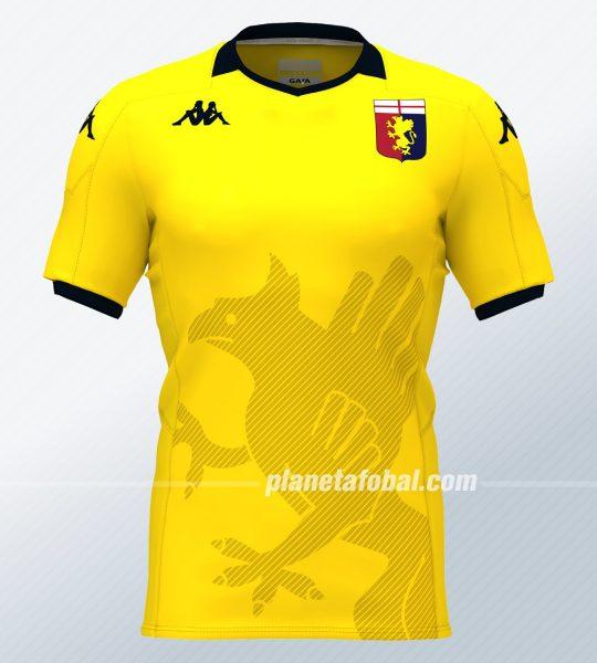 Camiseta Kappa de arquero del Genoa CFC 2019/20 | Imagen Web Oficial