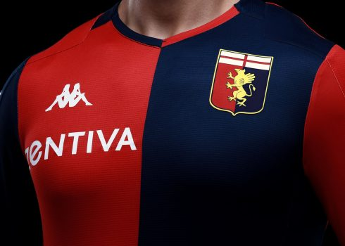 Camiseta Kappa del Genoa CFC 2019/20 | Imagen Web Oficial