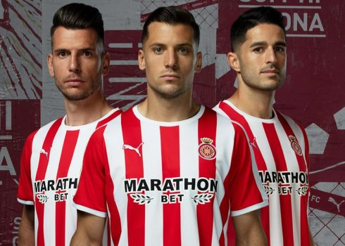 Camiseta titular Puma del Girona 2019/20 | Imagen Web Oficial