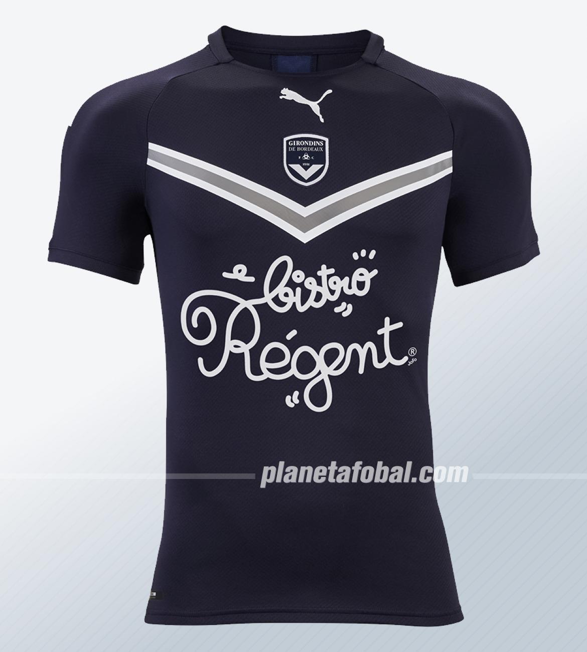 Camiseta titular Puma del Bordeaux 2019/20 | Imagen Web Oficial