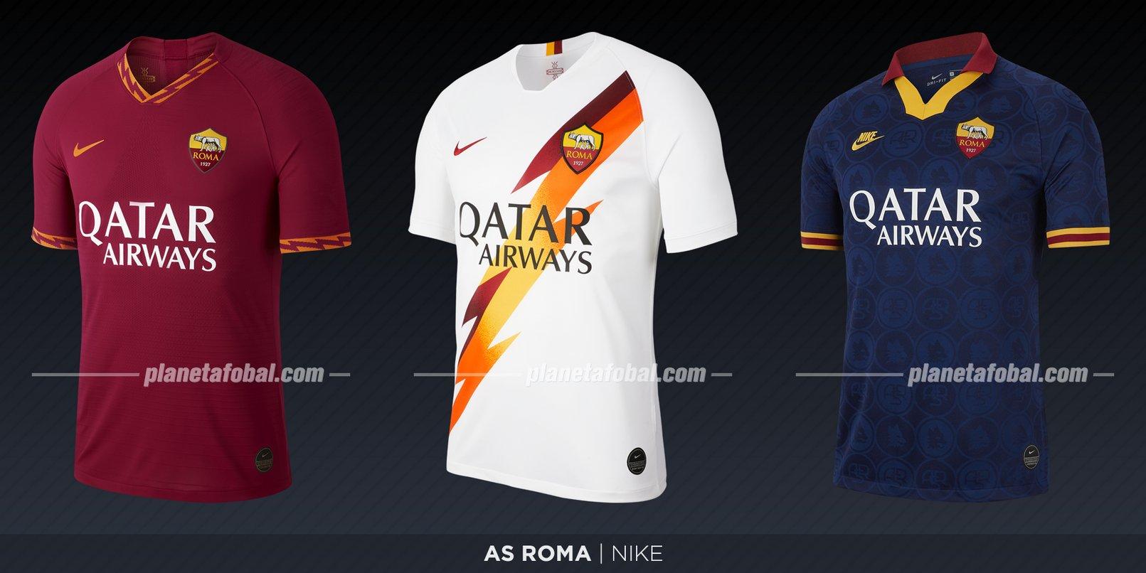 Roma (Nike) | Camisetas de la Serie A 2019-2020
