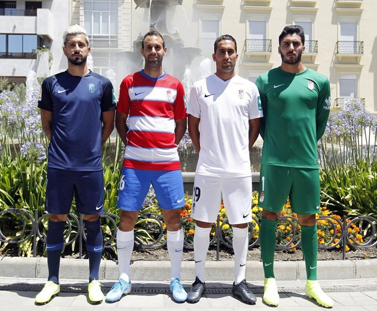 Equipaciones Nike del Granada CF 2019/20 | Imagen Twitter Oficial