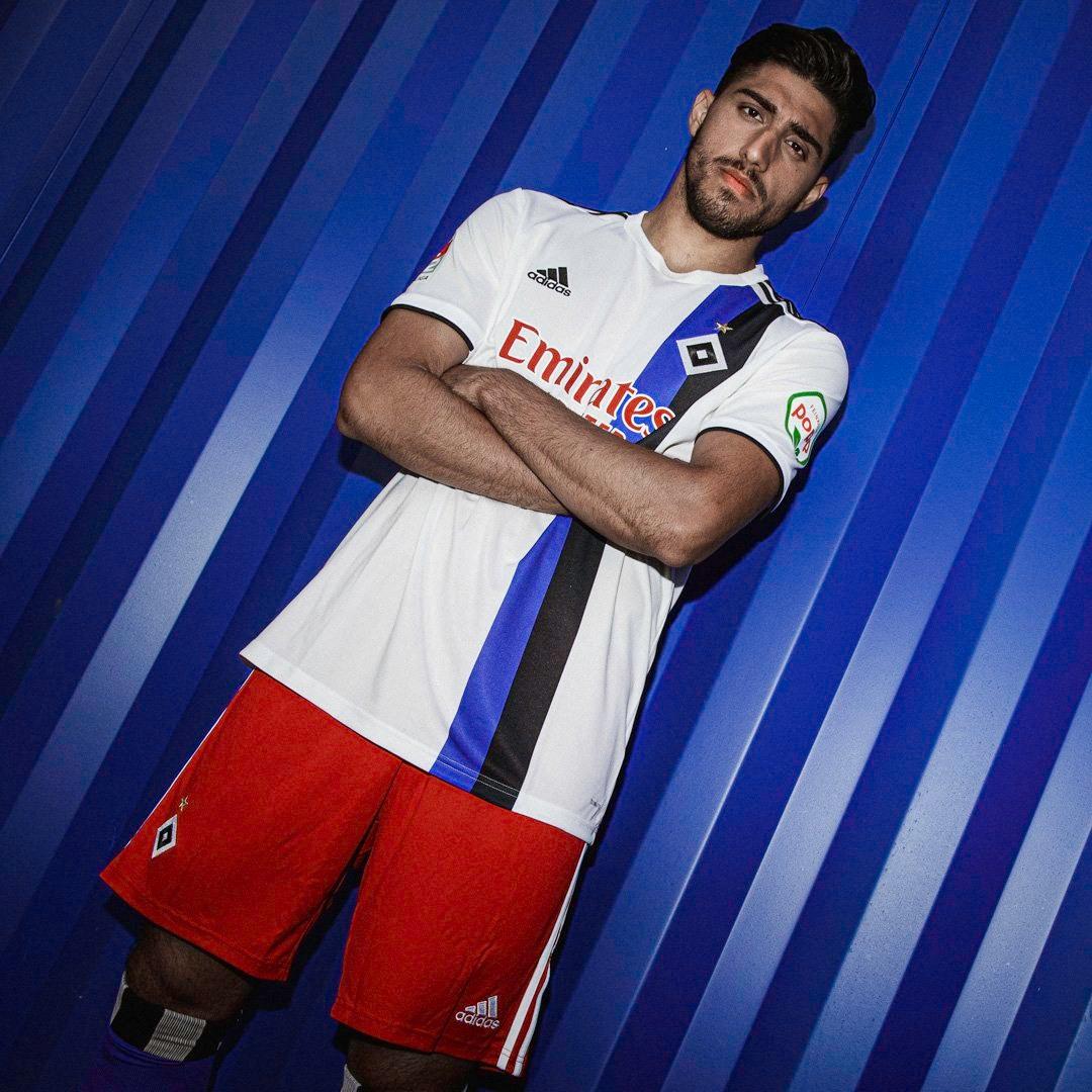 Camiseta titular Adidas del Hamburgo 2019/20 | Imagen Instagram Oficial