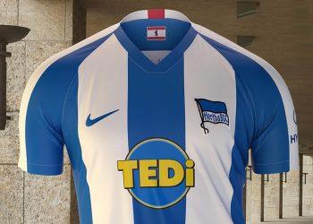 Camisetas Nike del Hertha Berlín 2019/20 | Imagen Web Oficial