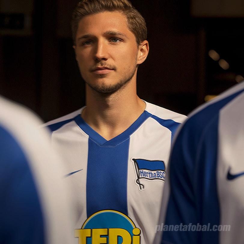 Camiseta titular Nike del Hertha Berlín 2019/20 | Imagen Web Oficial