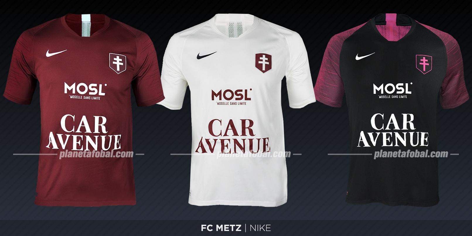 FC Metz (Nike) | Camisetas de la Ligue 1 2019-2020