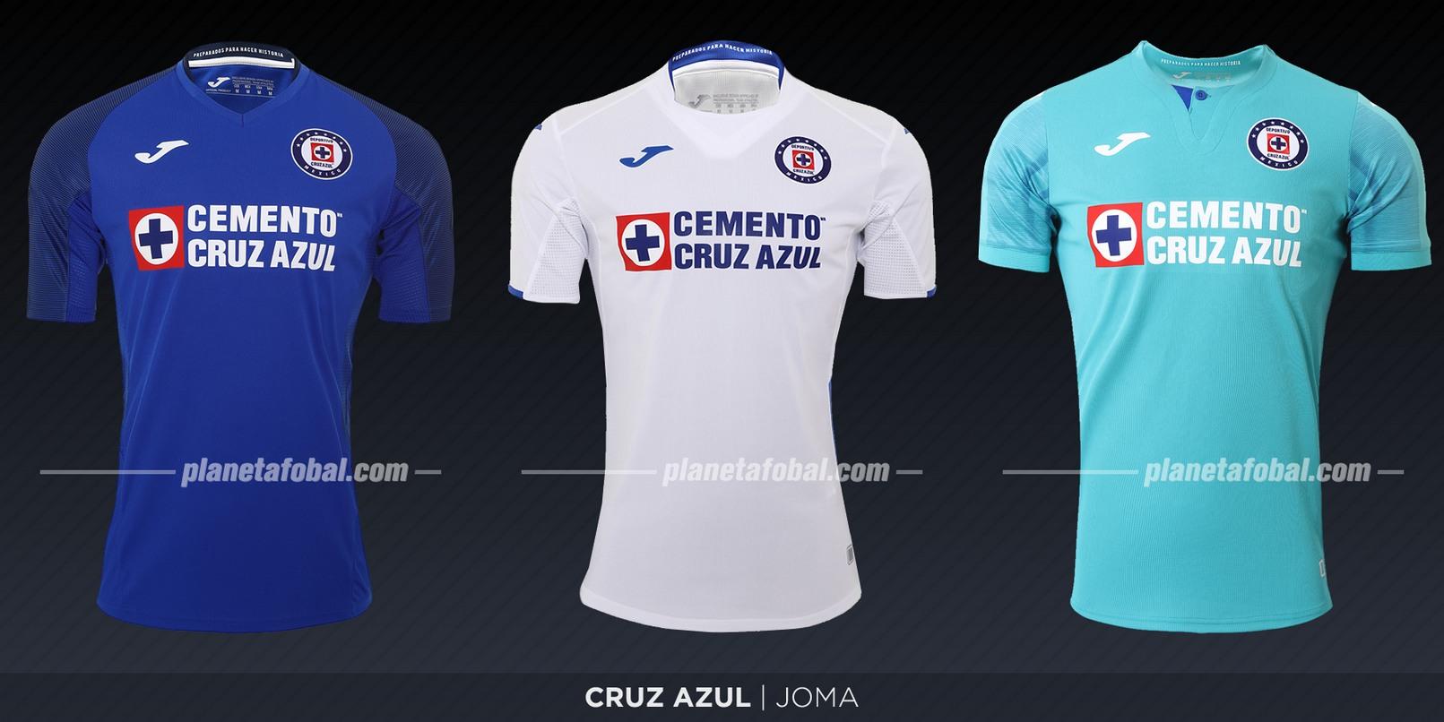 Cruz Azul (Joma) | Camisetas de la Liga MX 2019-2020