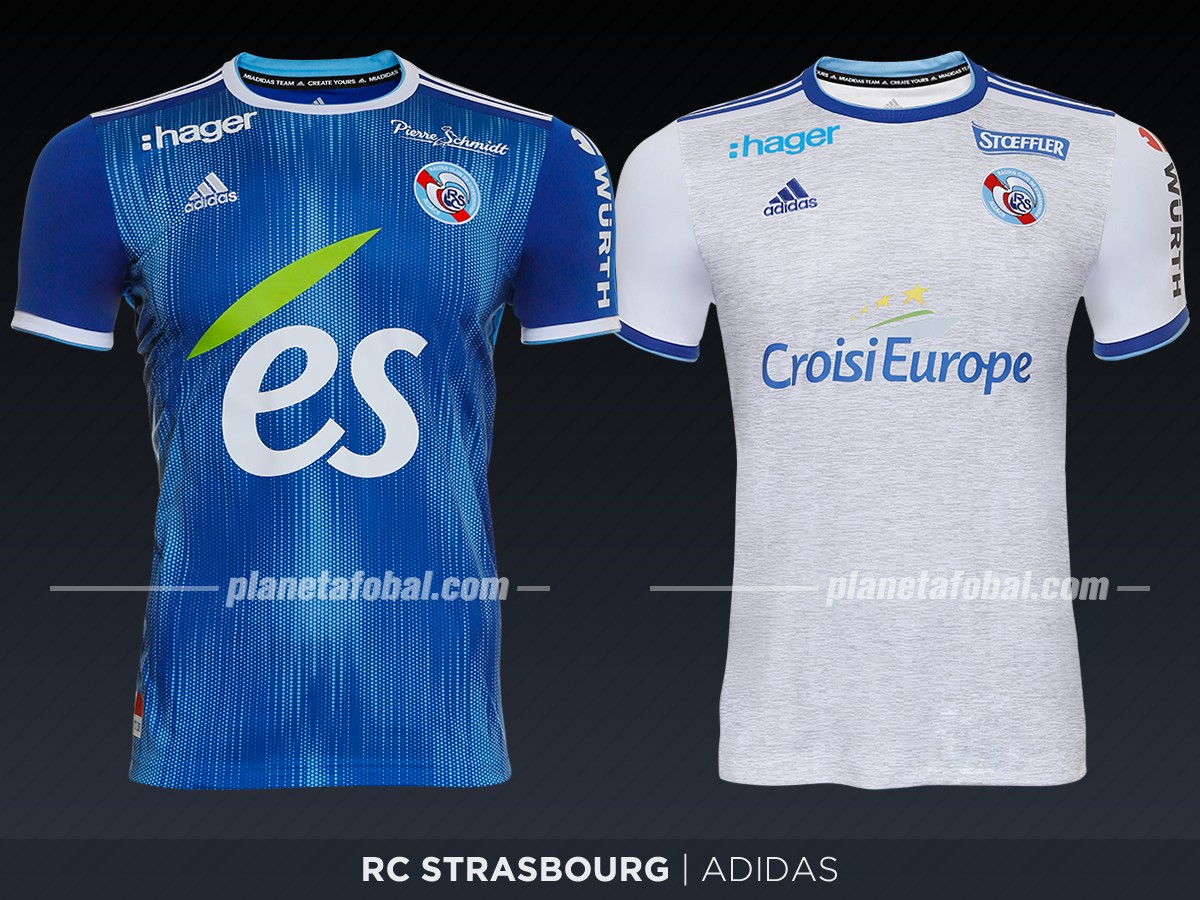 Racing Club de Strasbourg Alsace | Camisetas de la Ligue 1 2019-2020